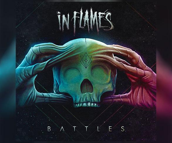 """IN FLAMES lanzarán """"Battles"""" en noviembre y estrenan nueva canción."""