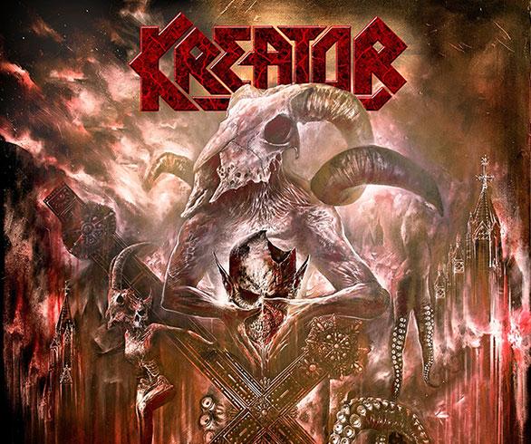 ¡Ahora sí! Acá están todos los detalles sobre el nuevo disco de KREATOR.