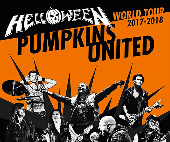 ¡Ya es oficial! ¡HELLOWEEN reincorpora a MICHAEL KISKE y KAI HANSEN para gira mundial 'Pumpkins United'!