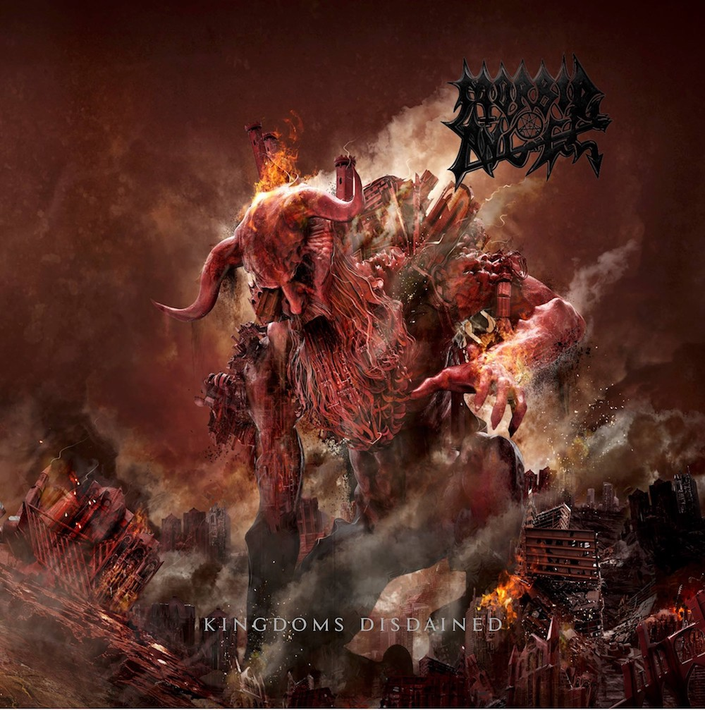 MORBID ANGEL <br> Kingdoms Disdained.