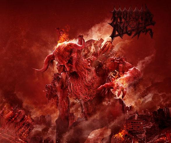 """A dos días antes del lanzamiento, MORBID ANGEL publica un segundo single de """"Kingdoms Disdained""""."""