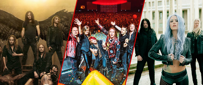 31 de octubre: ¡HELLOWEEN, KREATOR y ARCH ENEMY en Chile!