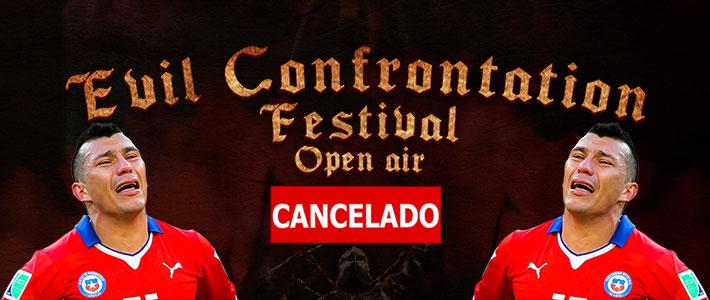 Se cancela la versión 2019 del EVIL CONFRONTATION FESTIVAL.