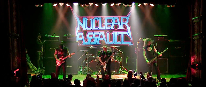Metal Attack 2019: NUCLEAR ASSAULT en Santiago.