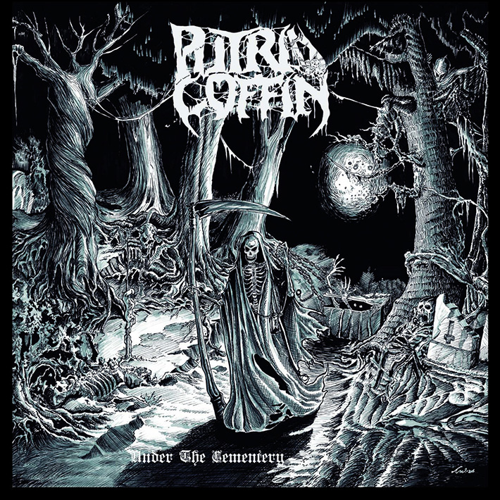 PUTRID COFFIN <br> Under the Cemetery