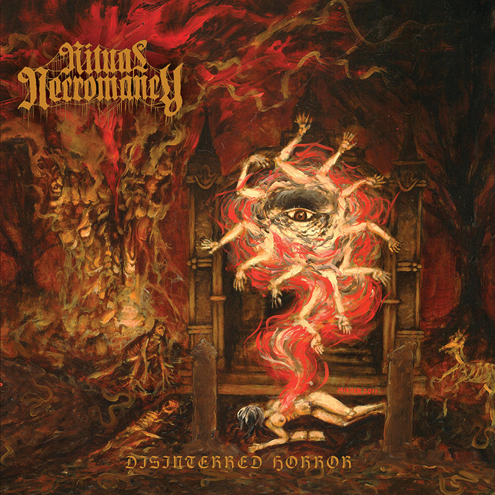 RITUAL NECROMANCY <br> Disinterred Horror