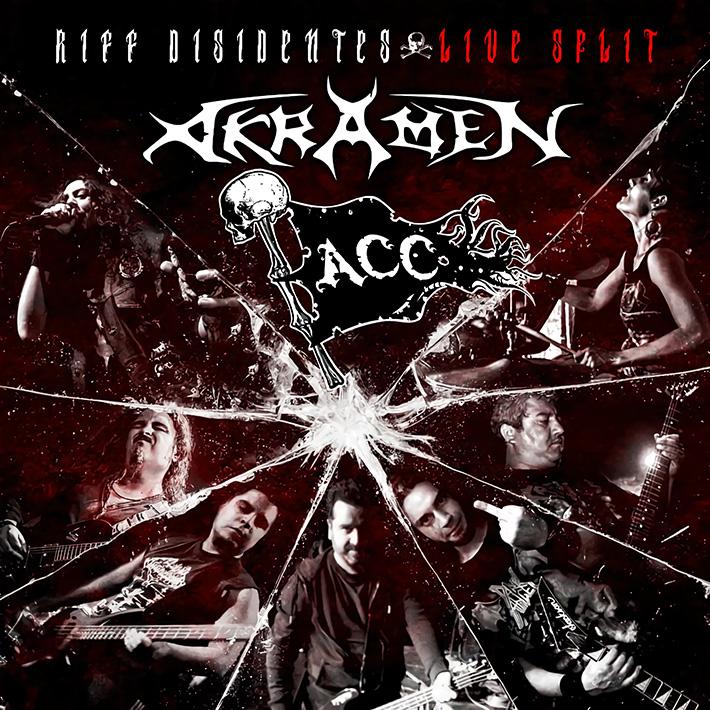 A.C.C. / AKRAMEN<BR> Riffs Disidentes